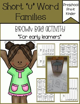 Short u Families Brown Bag Activity