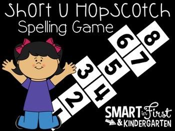 Short u Hopscotch Game