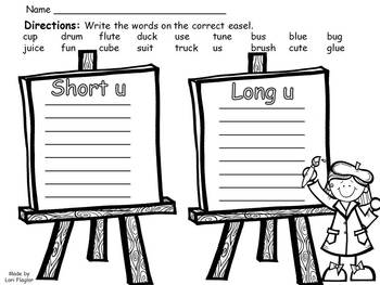 Short u Long u Activities