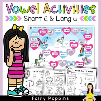 Short 'u' & Long 'u' Games and Activities