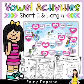Short 'u' & Long 'u' Games and Activities