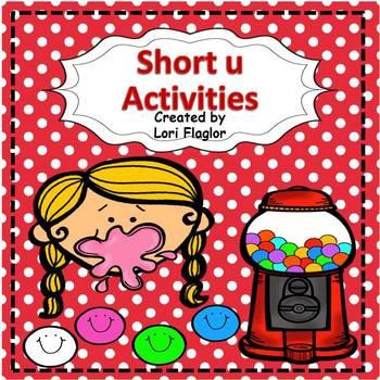 Short u Phonic Activities