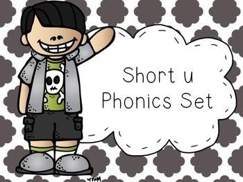 Short u Phonics Set