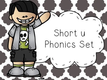 Short u Phonics Set