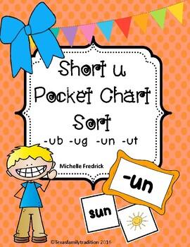 Short u Pocket Chart Sort