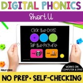 Short u Sound Tappers - Digital Phonics Learning {PowerPoint Games}