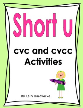 Short u Vowel Activities