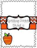 Short u Vowel Spelling Packet