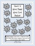 Short 'u' Vowel Word Sort Packet
