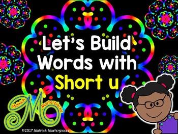Short u Word Building - Interactive PowerPoint