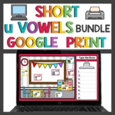 Short u Word Work Bundle