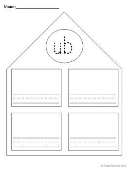 Short u Word Families Worksheets