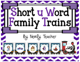 Short u Word Family Trains