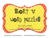 "Short ""u"" Word Puzzles"