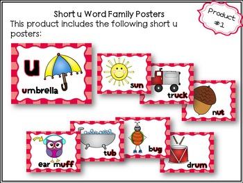 Short u Word Sorts Bundle