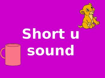 Short u sound