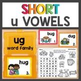 ug Word Family Phonics Pack