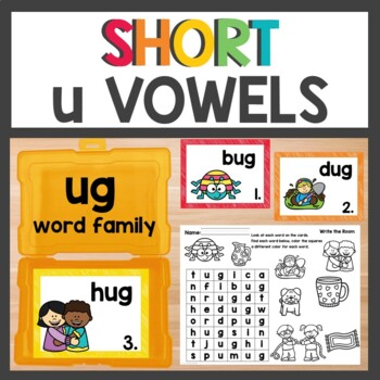 ug Word Family Phonics Pack