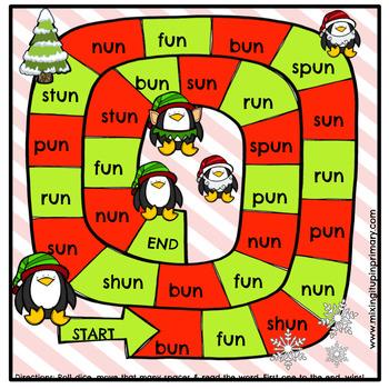 Short u - un Word Family Activities
