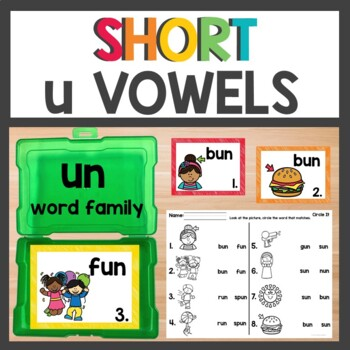 un Word Family Phonics set