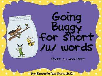 Short /u/ word sort center -ug -ut -un -ub