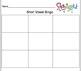Short vowel Bingo game for Smartboard