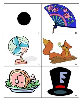 Short vowel (CVC) Word Cards