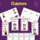 Short Vowel 'a' Games. Lotto, Go Fish, Sentence Reading
