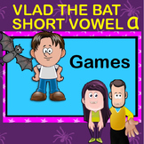 Short Vowel 'a' Games. Lotto, Go Fish, Sentence Reading