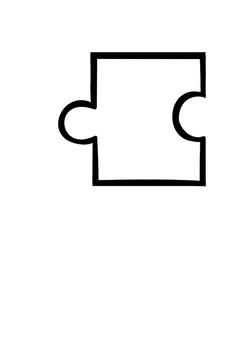 Short vowel a words puzzle activity