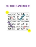 Short vowel chutes and ladders game