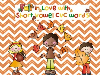 Short vowel cvc roll and read