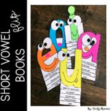 Short vowel flip books