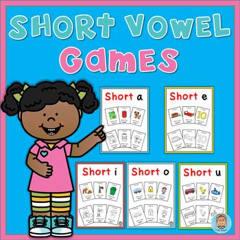 Short Vowel Games Bundle