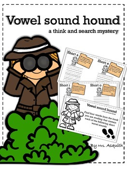 Short vowel hunting for independent reading and guided reading workshop