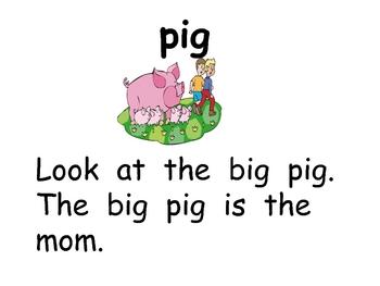 Short vowel i Word Work- Kindergarten 1st Grade Reading & Writing