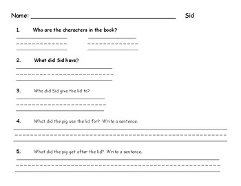 Short vowel i.read.illustrate.comprehend.sentences