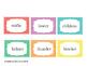 Short vowel multisyllabic words - fluency flashcards