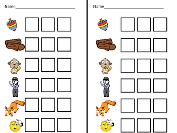 Short vowel o Word Work- Kindergarten 1st Grade Reading/ Writing