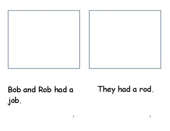 Short vowel o. read.illustrate.comprehend.sentences