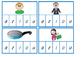 Short vowel peg cards