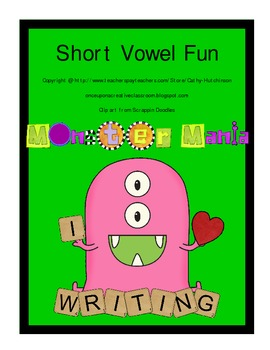 Short vowel practice for Early Elementary