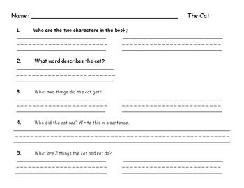 Short vowel a read.illustrate.comprehend.sentences