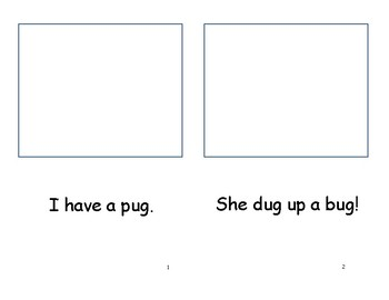 Short vowel u. read.illustrate.comprehend.sentences