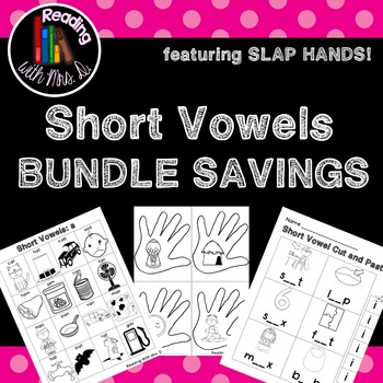 Short vowels SLAP HANDS Bundle!
