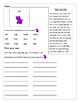 Short vowels decodable and fluency worksheets