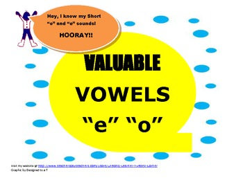 Short vowels o and e