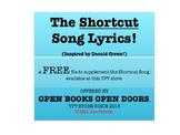 Shortcut Song Lyrics--Inspired by Donald Crews