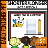 Shorter or Longer | EARLY FINISHER PPT | Module 3 Lesson 1