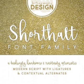 Shorthalt Font Family for Commercial Use